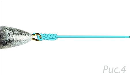 изображение готового узла клинч