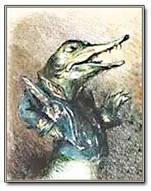 рисунок щуки из басни Крылова