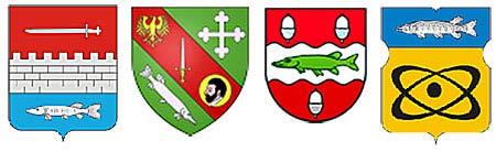 гербы с изображением щуки