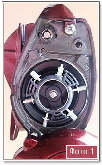 фото центробежного тормоза мультипликаторной катушки