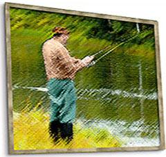 изображение картины рыболов